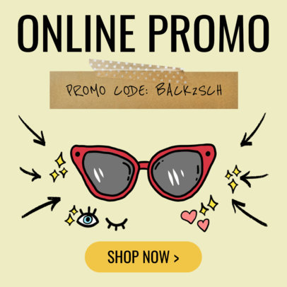 Online Banner Maker for Discount Eyeglasses 536