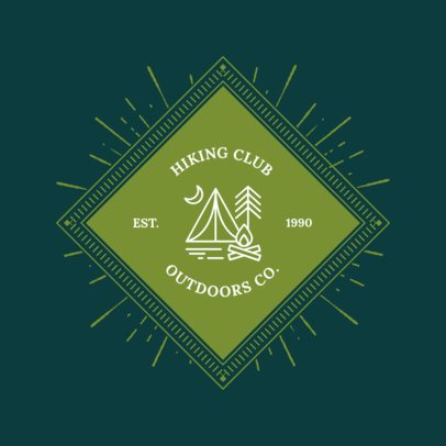 Outdoors Logo Template 1371