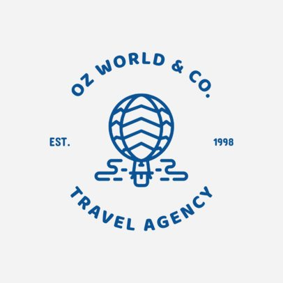 Logo Template for Tour and Travel Guides 1280e