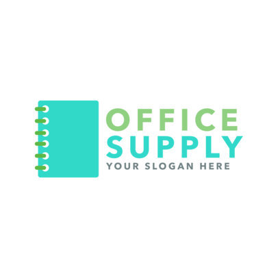 Office Supply Store Logo Creator 1380