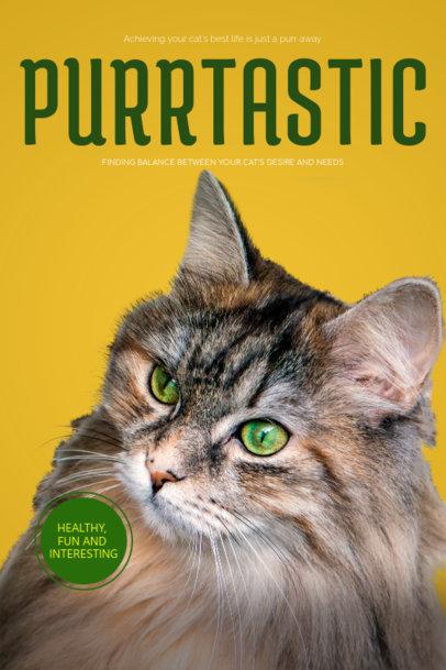 Healthy Cat Tips Book Cover Maker 517e