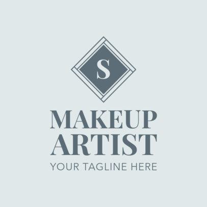 Makeup Artist Logo Design Maker 1361c