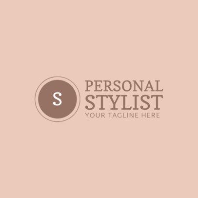 Personal Styler Logo Design Template 1361d