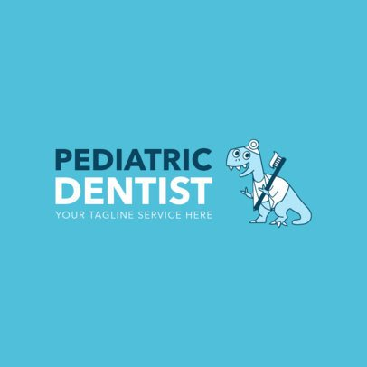 Online Logo Maker for Pediatric Dentistry 1366c