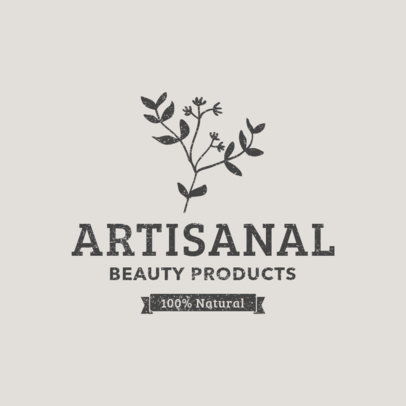 Logo Maker for Natural Beauty Care Brand 1192e