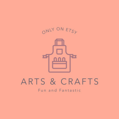 Online Logo Maker for Arts and Crafts Store 1401