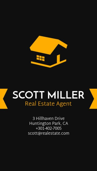 Professional Business Card Maker for Real Estate Agents 497d