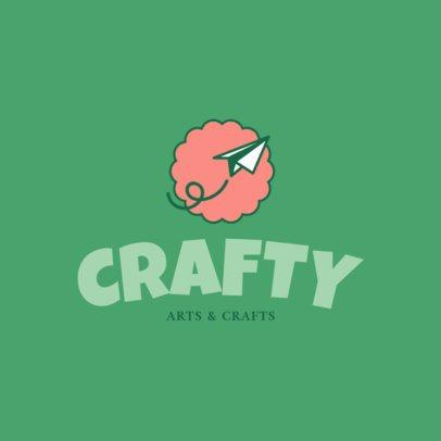 Online Logo Creator for Crafts Shop 1402