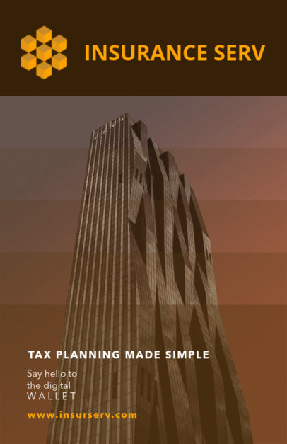 Tax Planning Flyer Template 510b