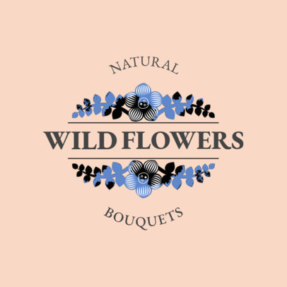 Online Logo Maker for Bouquet Shop 1335c