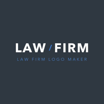 Online Logo Maker for Attorneys 1353d