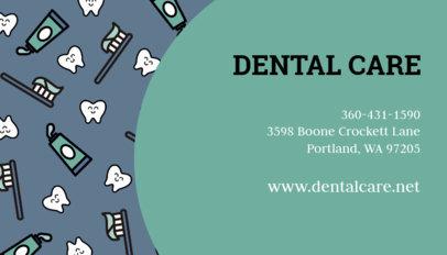 Dental Care Clinic Business Card Maker 560d