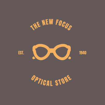 Online Logo Maker for Optical Store 1370a