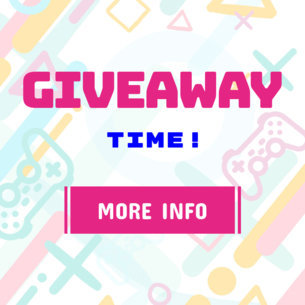 Giveaway Banner Template with Gamer Graphics 247a