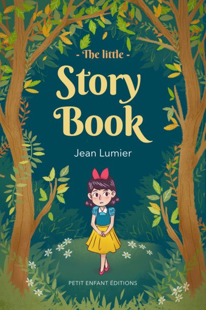 Design Template for a Children's Stories Book Cover 541