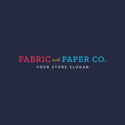 Text Logo Maker for Arts and Crafts 1356a