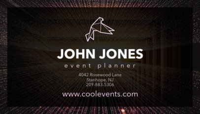Business Card Maker for Event Managers 85