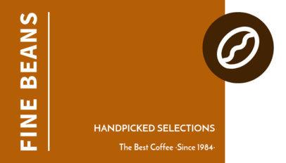 Coffee Bean Roaster Business Card Maker 505b