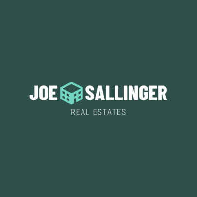 Professional Real Estate Agent Logo Template 1351c