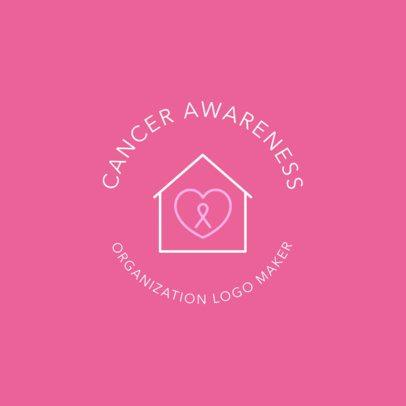 Cancer Awareness Logo Maker 1373e