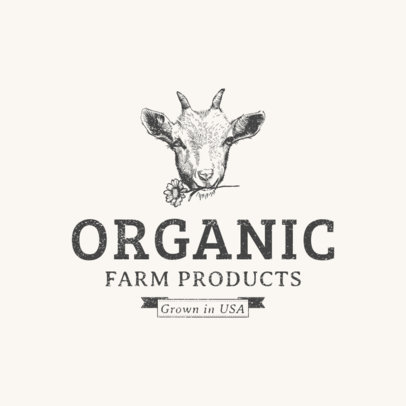 Farm Products Logo Template 1378e