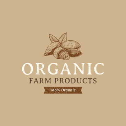 Organic Food Logo Maker 1378d