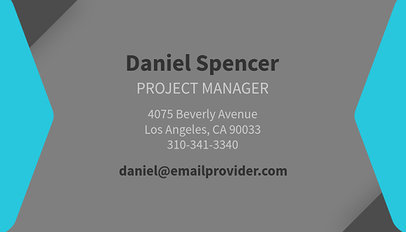 Custom Online Business Card Creator 555