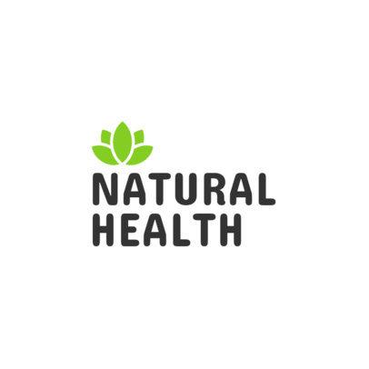 Healthcare Logo Maker with a Wellness Clip Art 1368b