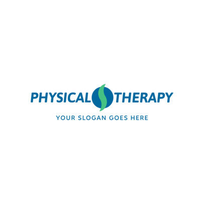 Physical Therapist Online Logo Maker 1367