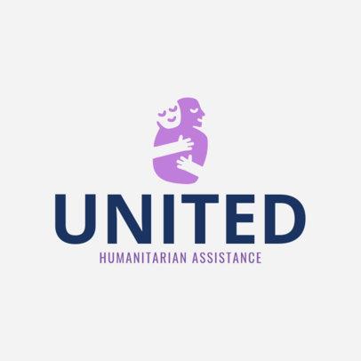 Humanitarian Aid Online Logo Maker 1374e