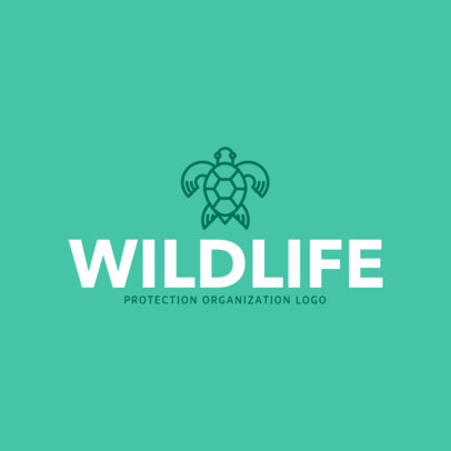 Wildlife Organization Logo Design Template 1374b