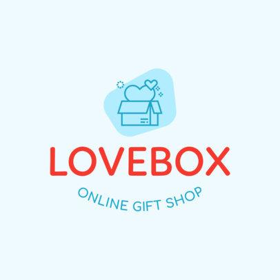 Online Gift Shop Logo Maker 1394d