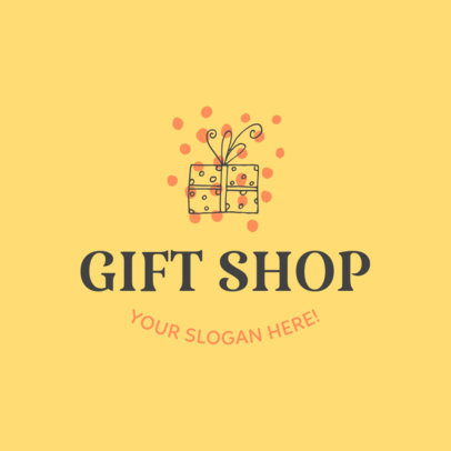 Online Logo Template for Gift Stores 139e