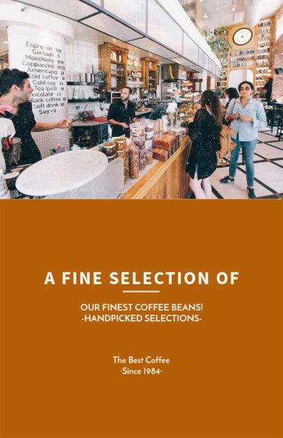 Flyer Maker for Coffee Roasters 506b