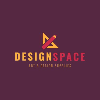 Art and Design Supply Store Online Logo Maker 1380c