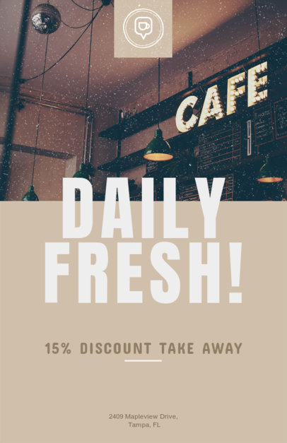 Fresh Coffee Flyer Template 506e