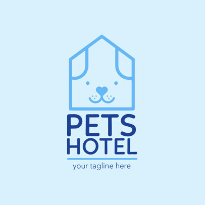 Online Logo Maker for Pet Hotel 1433