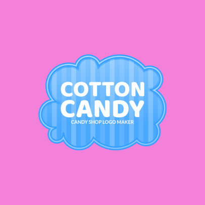 Simple Candy Store Logo Maker 1390d