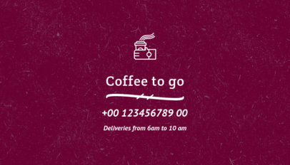 Coffee Roaster Business Card Generator 570e