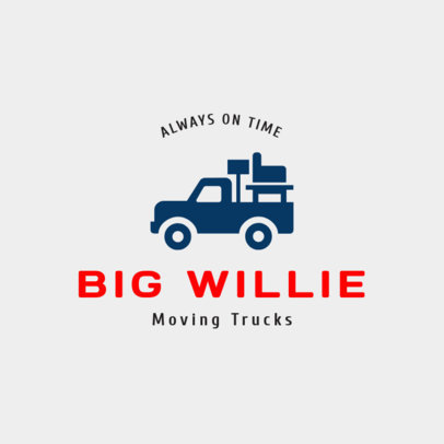 Trucking Online Logo Generator 1385a