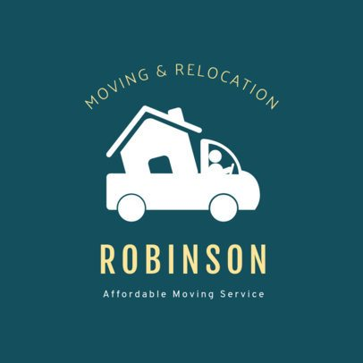Logo Maker for a Moving and Relocation Company 1385b