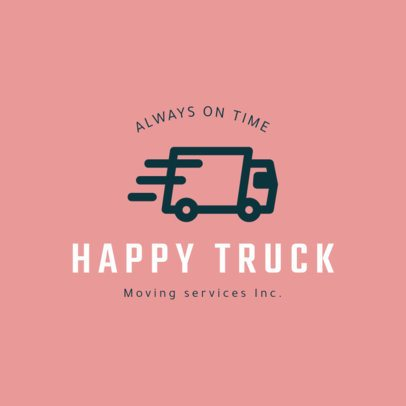 Online Logo Maker for a Moving Company 1385d