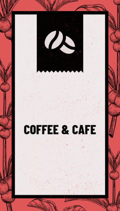 Business Card Template for Coffee Houses 36d