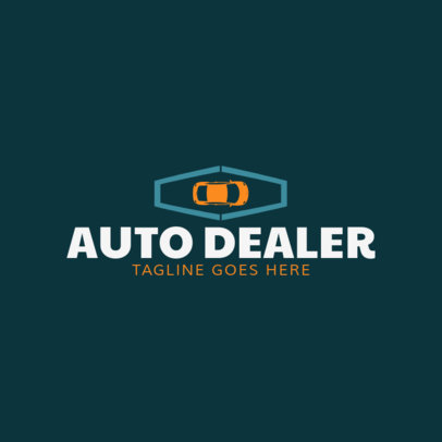 Auto Dealer Logo Design Template 1405a