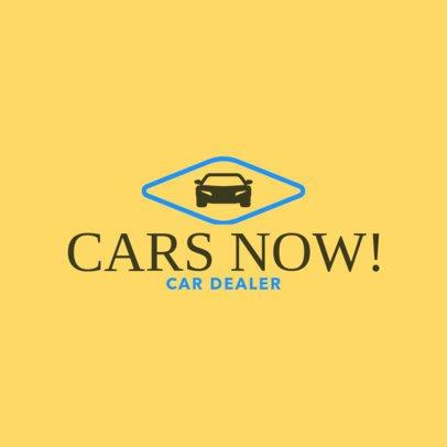 Car Dealerships Logo Creator 1405b