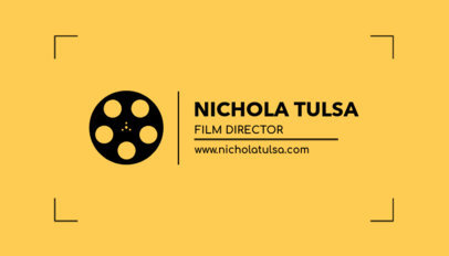 Film Director Business Card Creator a217c