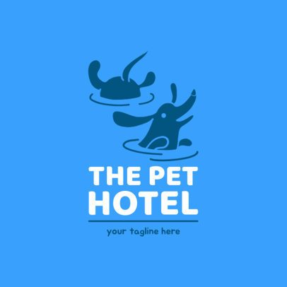 Doggy Day Care Logo Maker 1433d