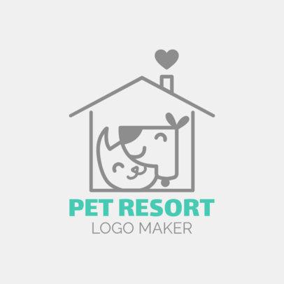 Online Logo Maker for Pet Resorts 1433e