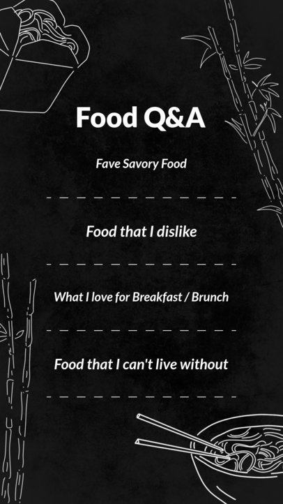 Insta Story Template for Restaurants 584