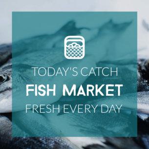 Fish Market Banner Design Template 382b